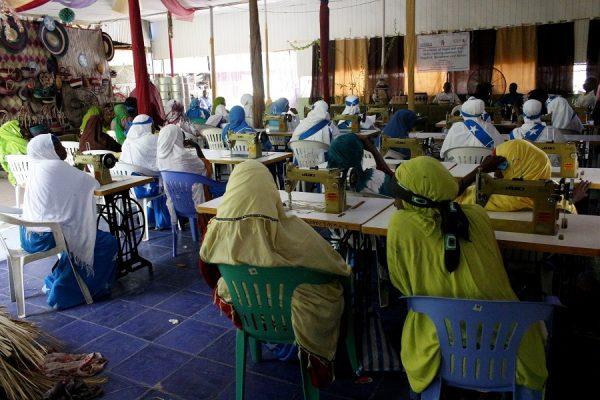 Graduation Ceremony: Vocational training skills concluded for 30 women in Mogadishu